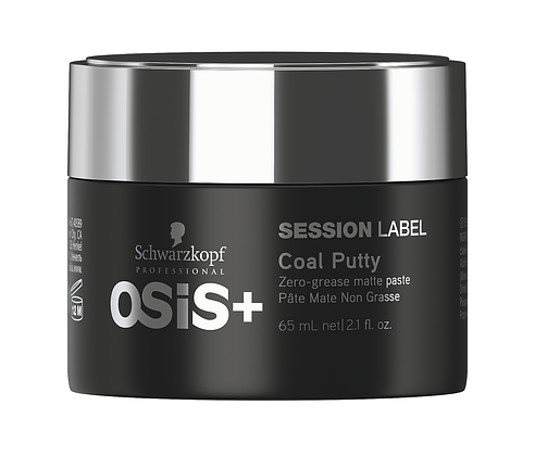 OSIS + Session label Coal Putty
