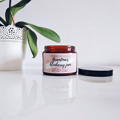 Świeca sojowa Grandma's blueberry jam