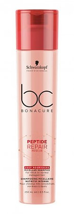 Szampon do grubych włosów bc boncure peptide repair rescue