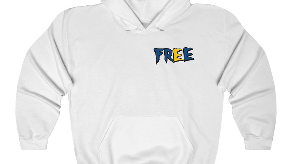 Free Hoodie White