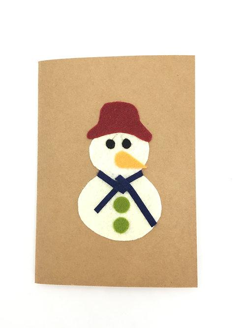 Kaart Sneeuwpop