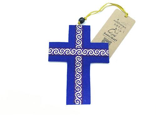 Vilten kruisje (groot)