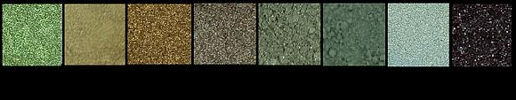 Mineral Eye Shadow - Green Hues