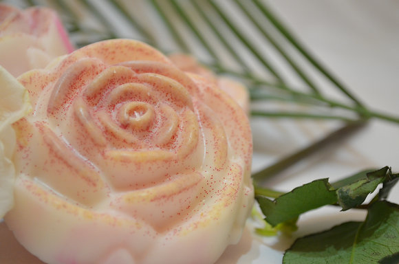 White Rose Magnolia Soap