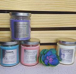 Fandom Mason Jar Candles
