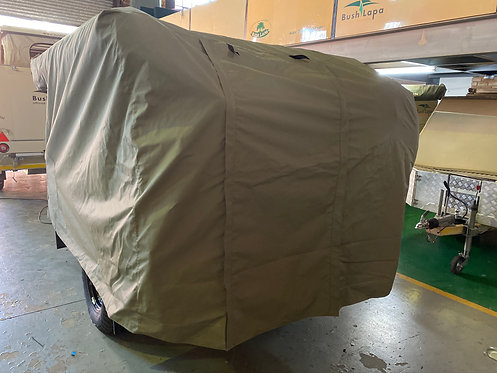 Canvas caravan cover for Bush Lapa Gogga