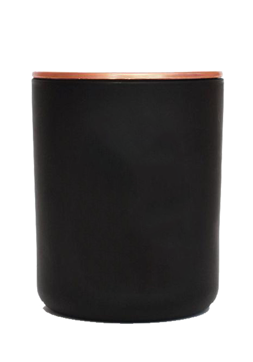 The Wooden Large Matte Black Candle2