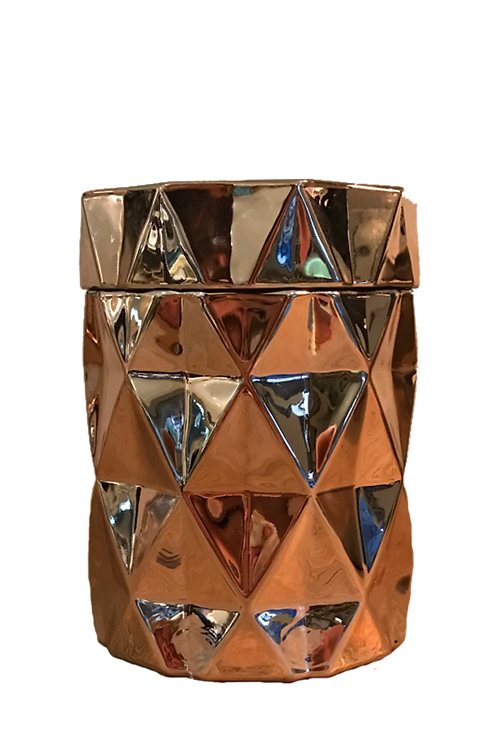 Rose Gold Diamond Candle 365ml