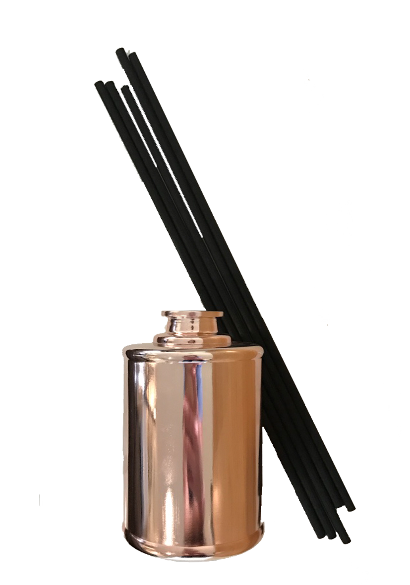 The Wooden Wick Tall Rose Gold Diffuser2