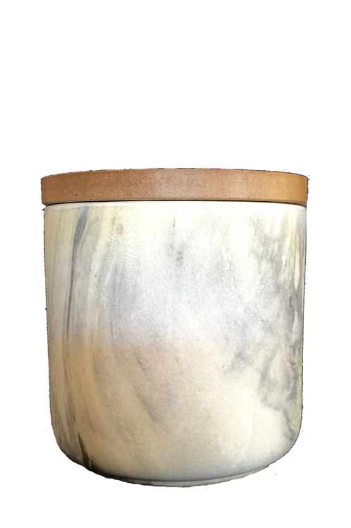 Marble Ceramic Candle 460gm