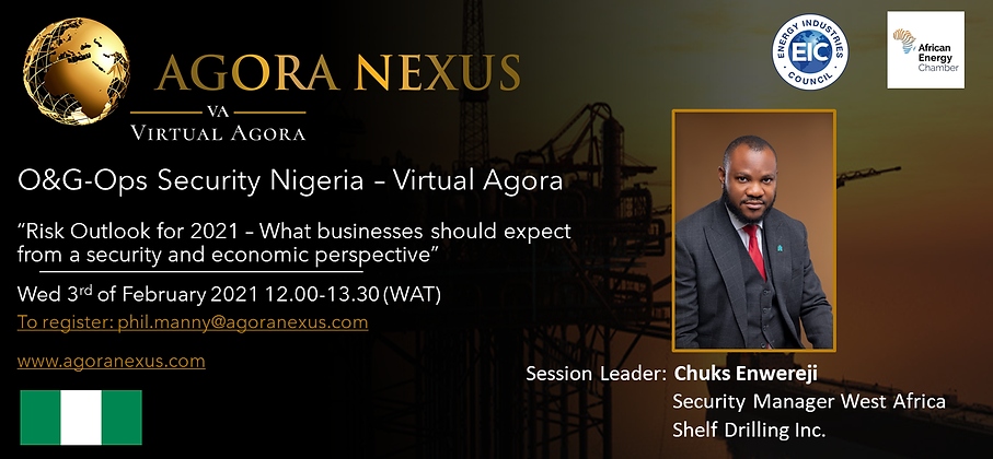 O&G-Ops Nigeria - Virtual Agora Wed Feb
