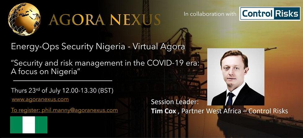 Agora Nexus - Energy-Ops Security Lagos