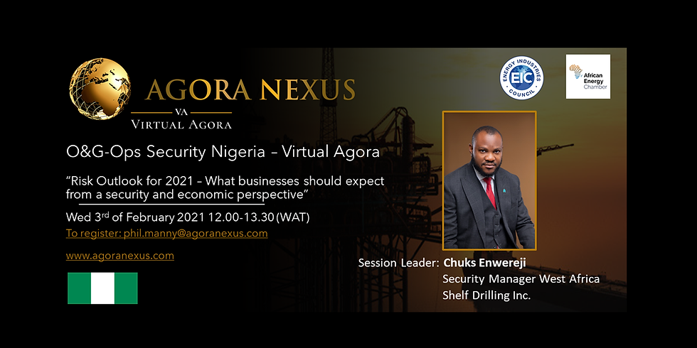 O&G-Ops Security Nigeria - Virtual Agora