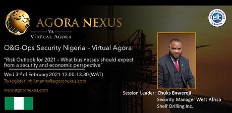 O&G-Ops Security Nigeria - Virtual Agora February 3rd 2021
