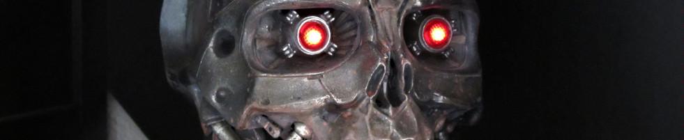 Terminator Salvation T600 Skull