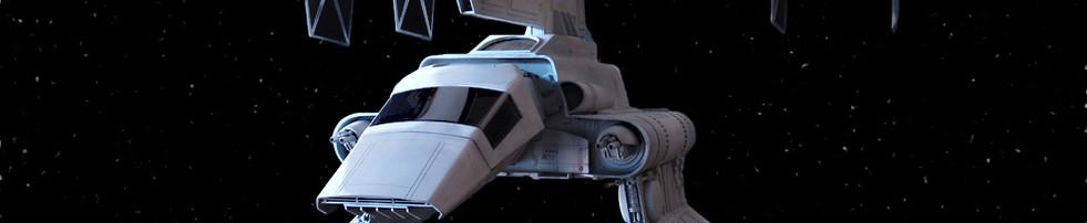 Hasbro Lambda Shuttle Tydirium