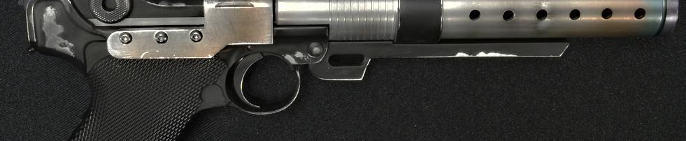 Jyn Erso A180 Blaster