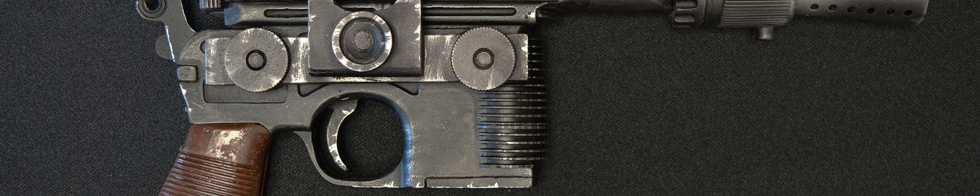Han Solo ANH DL-44 Blaster