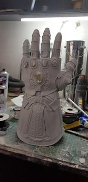 Overdone of a Marvel Legends Glove