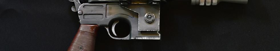 Han Solo ESB DL-44 Blaster