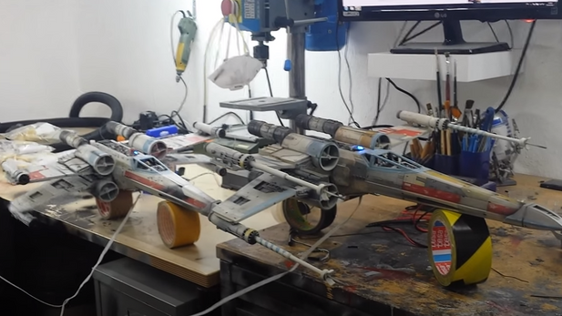 Done Electronics for synronized open close fuction for up to 5 X-Wings