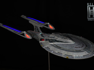 USS Enterprise NCC1701-E 1/650 Added to the Galery