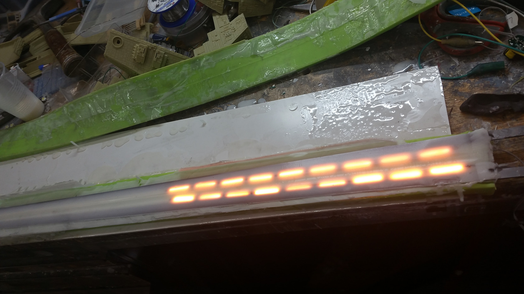 Witcher Sword electronics. Some Day i will finish it ;)