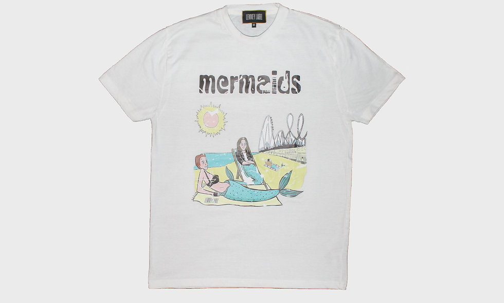 Mermaids band T-shirt