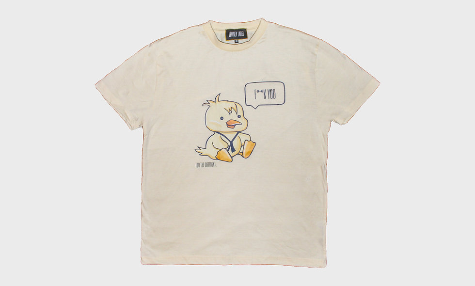 T-shirt with LEWNEY duckling