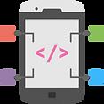 Icon_Mobile App Design & Development_Edu-World Web