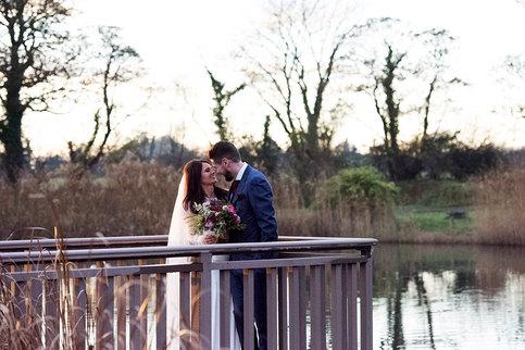 most romantic wedding photograph by meath wedding photographer