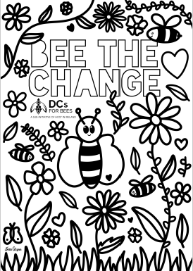 Bee the Change_Colouring Sheet_Thumbnail