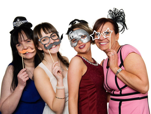 photo booth for wedding guests