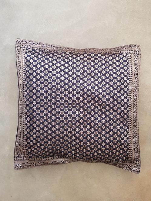 Índia - Capa de almofada de seda