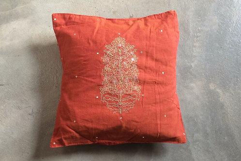 Índia - capa de almofada de algodão