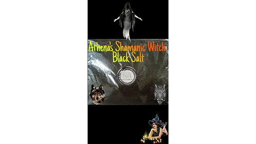Athena's Shamanic Witch Black Salt