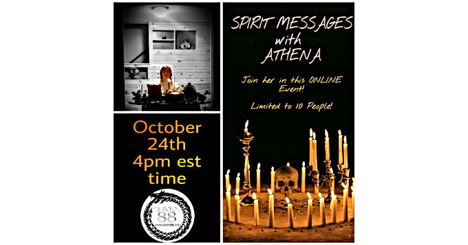 Spirit Messages with Athena
