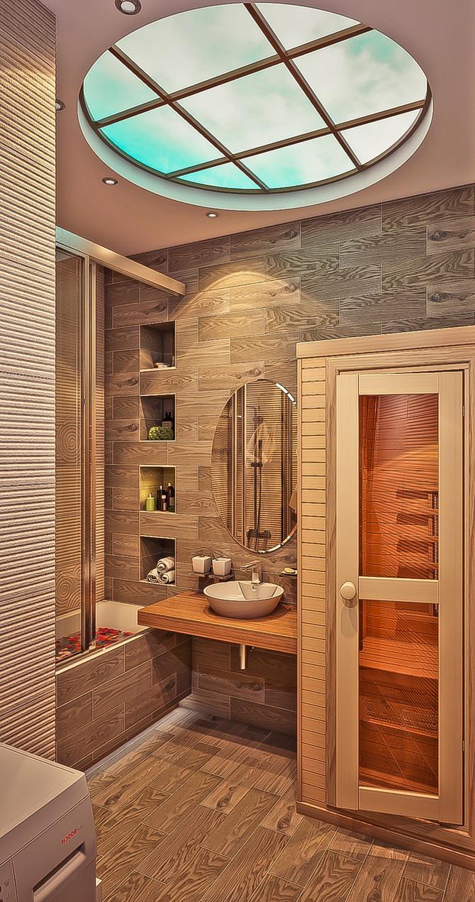 Как из обычной ванной в квартире сделать настоящую спа зону?