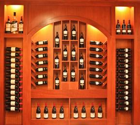 Bravo Resturant Wine Cabinet