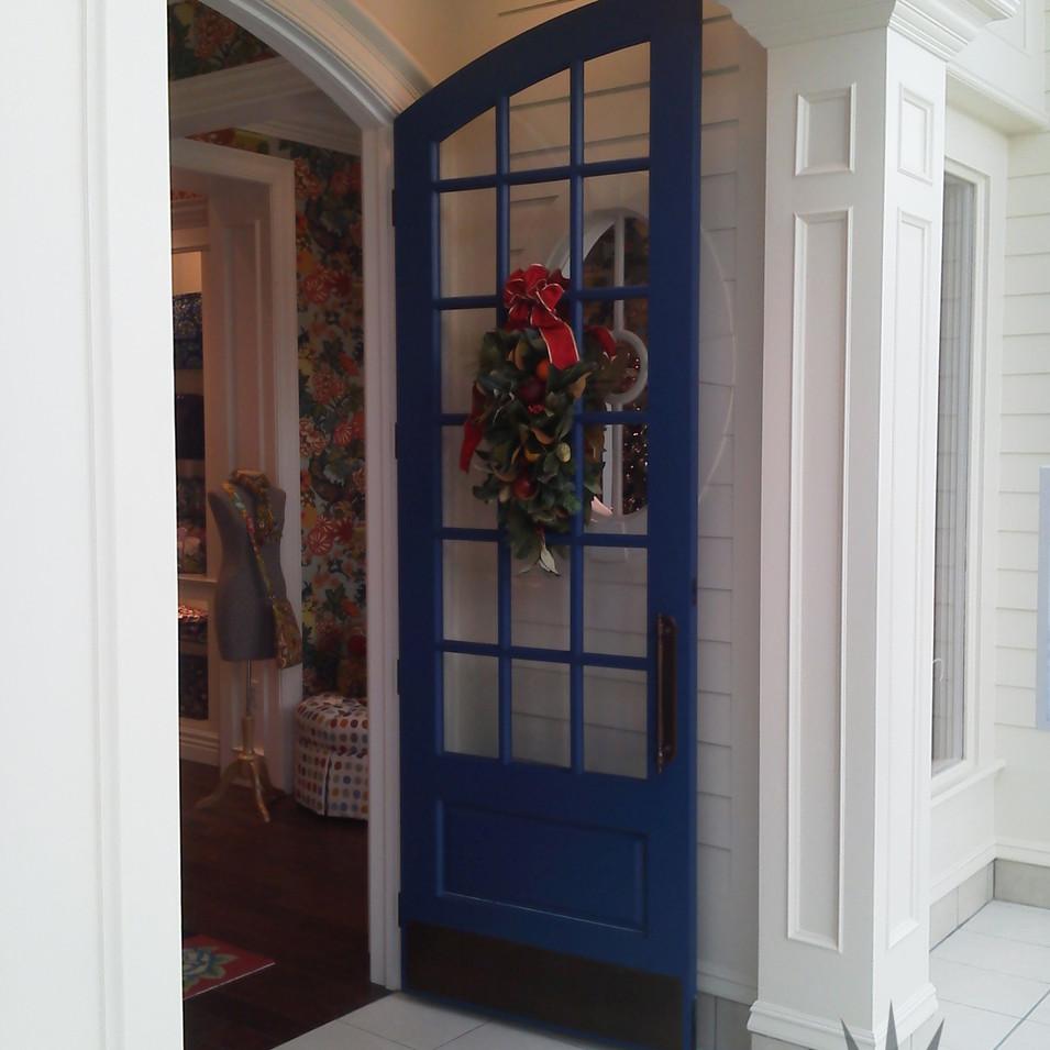 Exterior door sold by The Woodsmiths in Kalamazoo, MI.