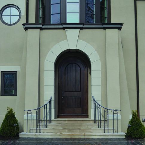 Exterior Mahogany Custom Door