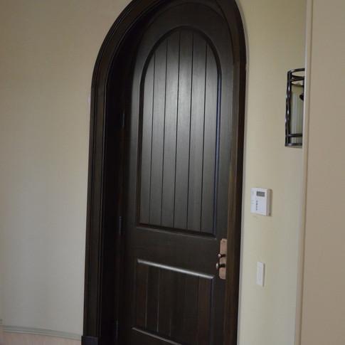 Interior Mahogany Custom Door