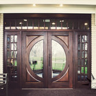 Exterior wood and glass doors sold by The Woodsmiths in Kalamazoo, MI.