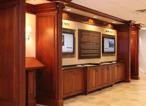Hillsdale College Cabinets