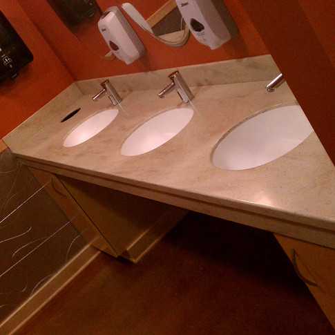 Olive Chop House Bathroom