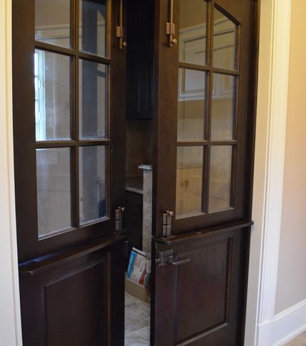 Custom Glass Door
