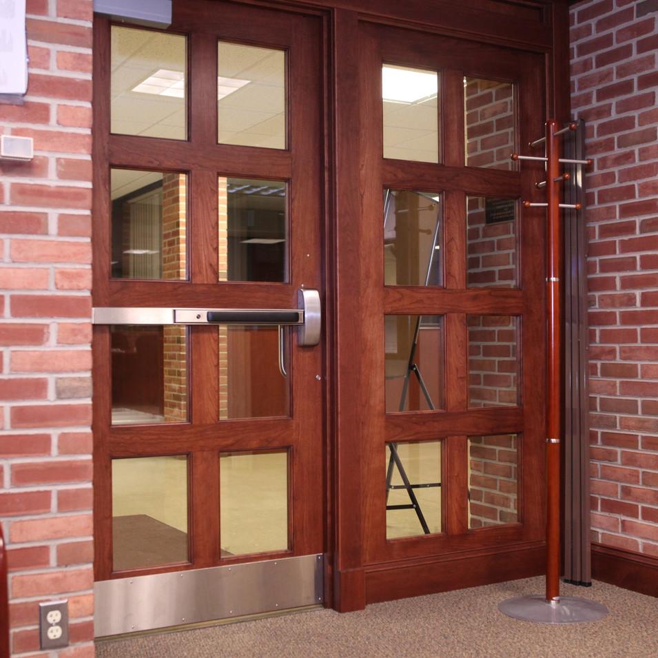 Hillsdale College Office Door