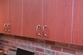 Hillsdale College Office Cabinets