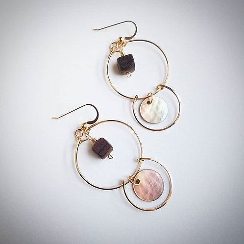 Luminescent Accent Hoops
