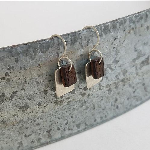 Hammer and Barrel Earrings